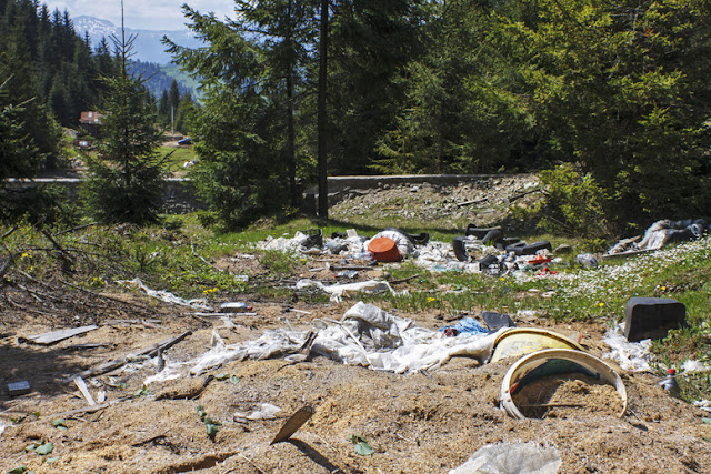 baia borșa maramureș visit romania discover gunoi gunoaie
