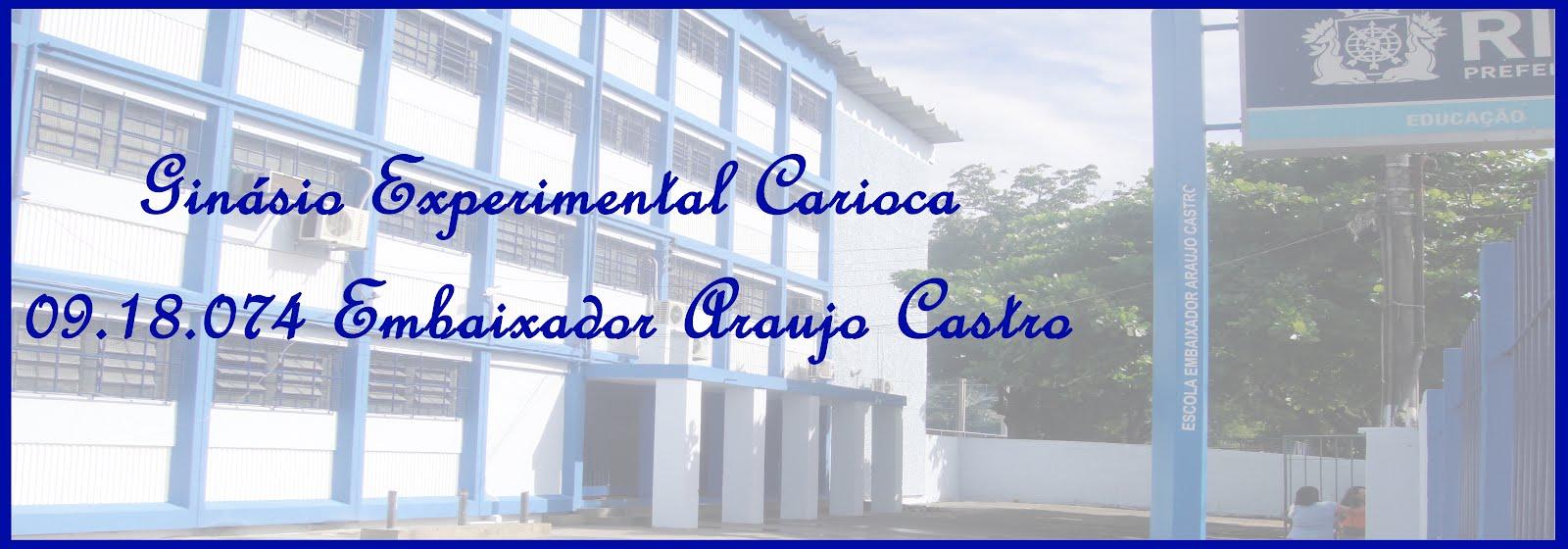 Ginásio Carioca 09.18.074 Embaixador Araujo Castro