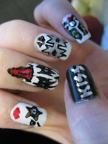 bizarre nail design create unique