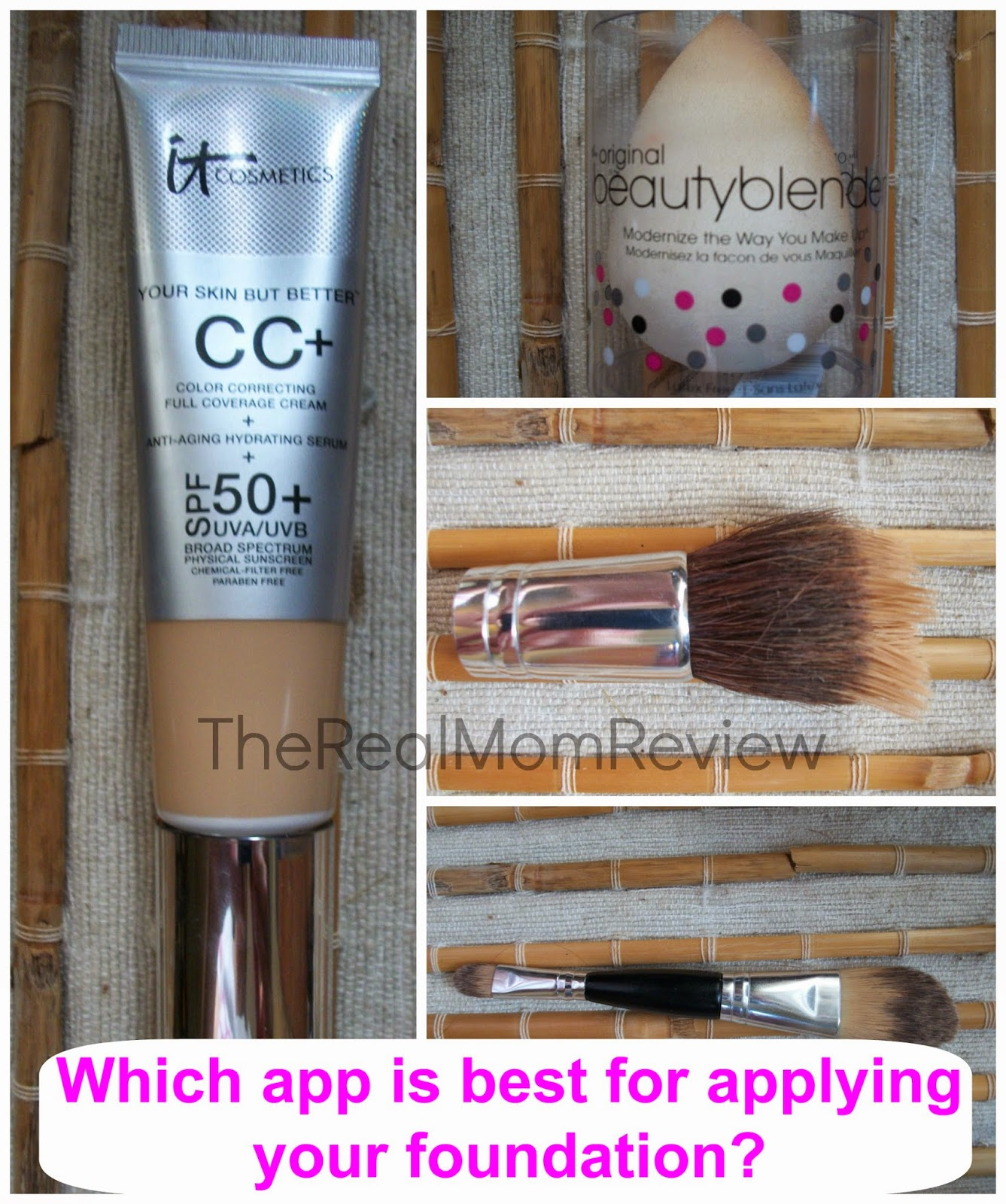 which foundation applicator works best