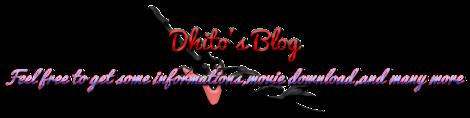 Dhito's Blog
