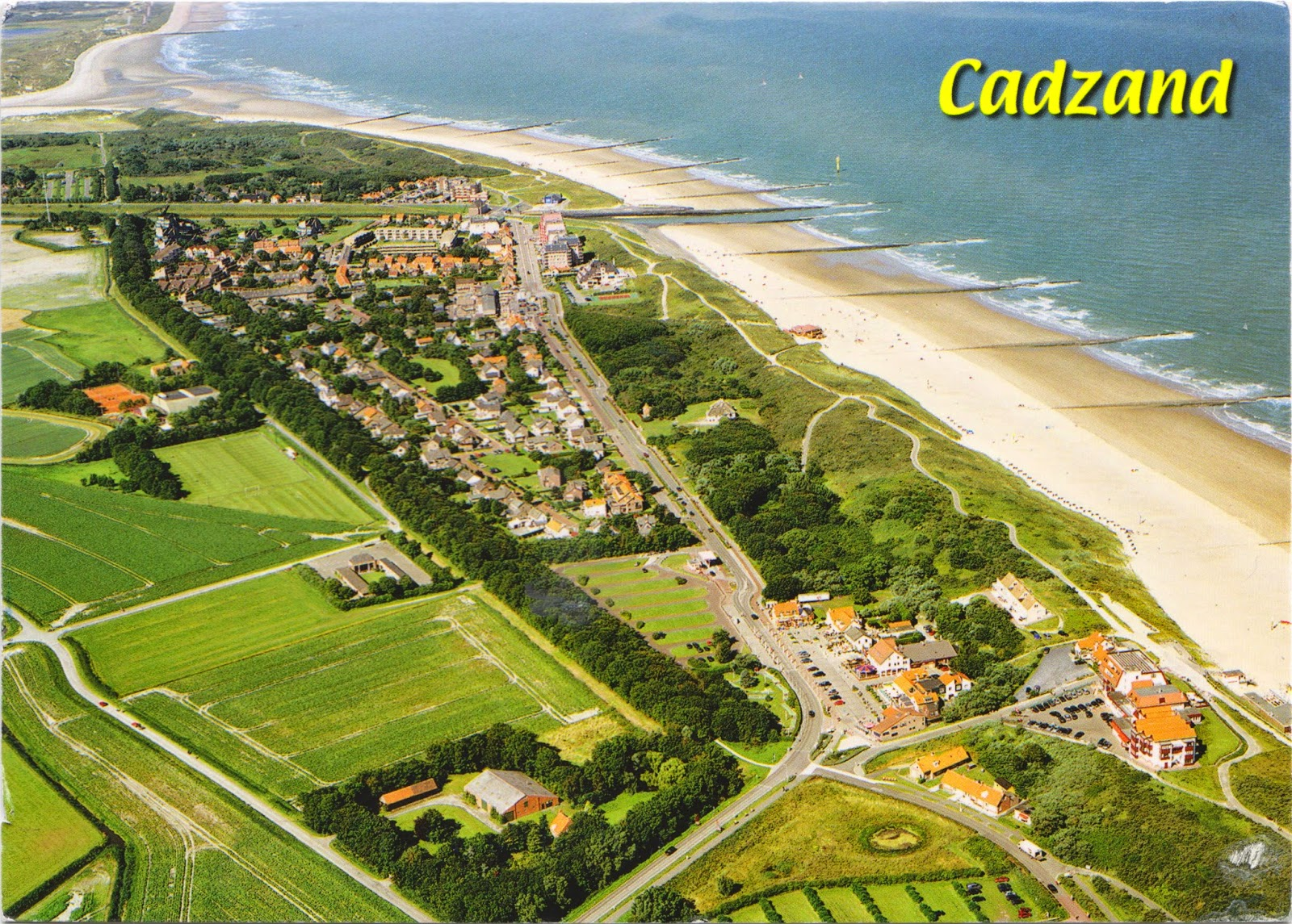 one postcard a day cadzand the netherlands. Black Bedroom Furniture Sets. Home Design Ideas