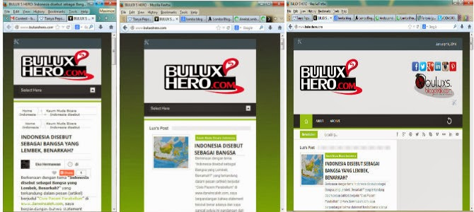 Minimize Website Responsive