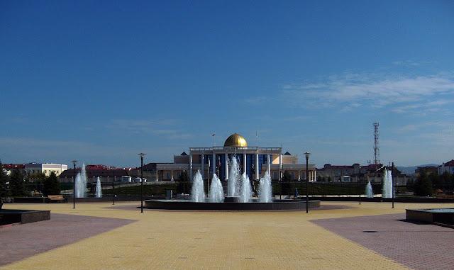 Дворец Президента Ингушетии, город Магас