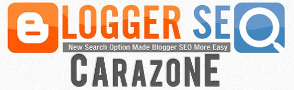 Cara Aktifkan | Optimalkan Pengaturan SEO BlogSpot