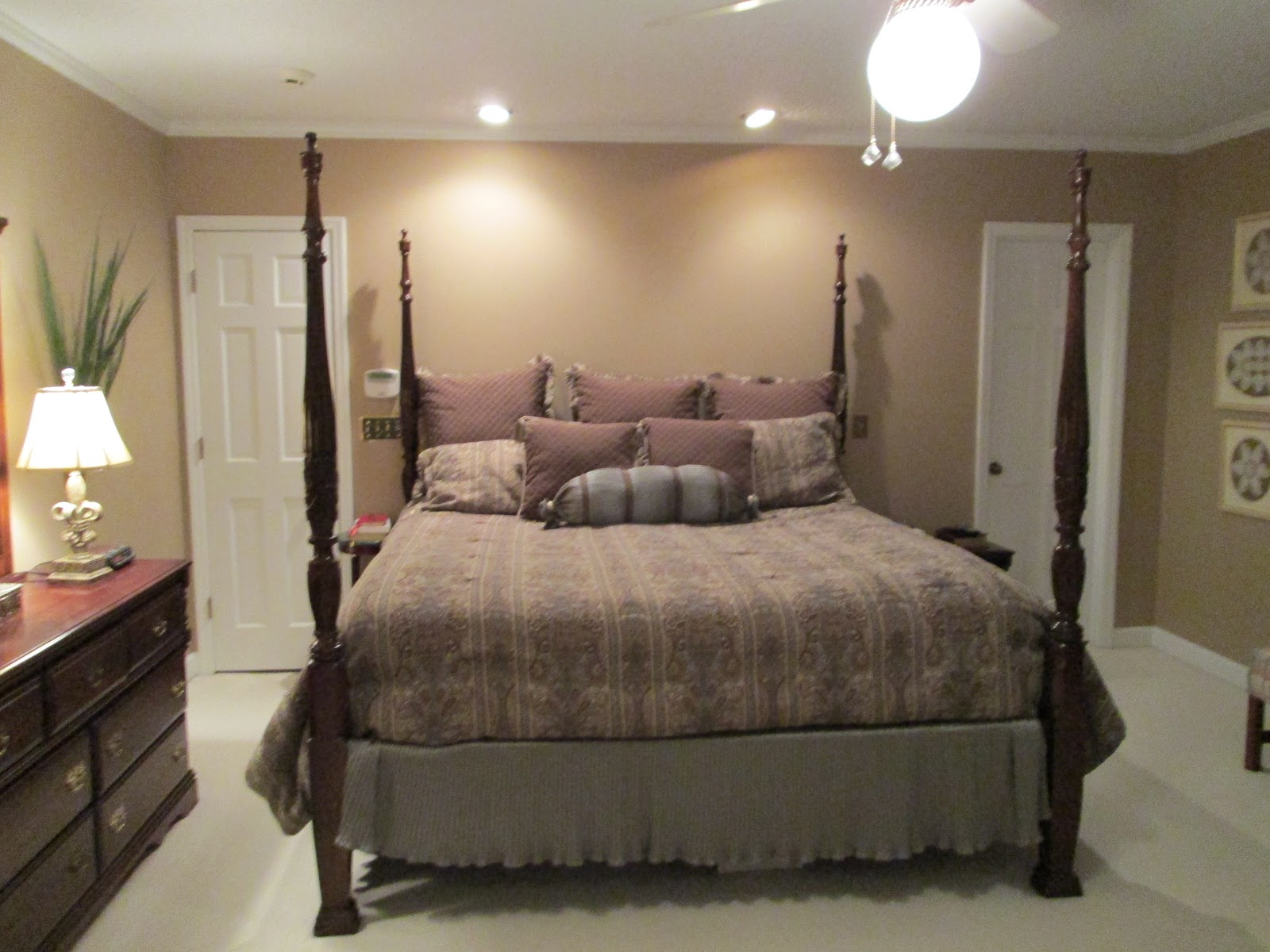 Reclaiming the empty nest master bedroom design board for Bedroom nothing lasts