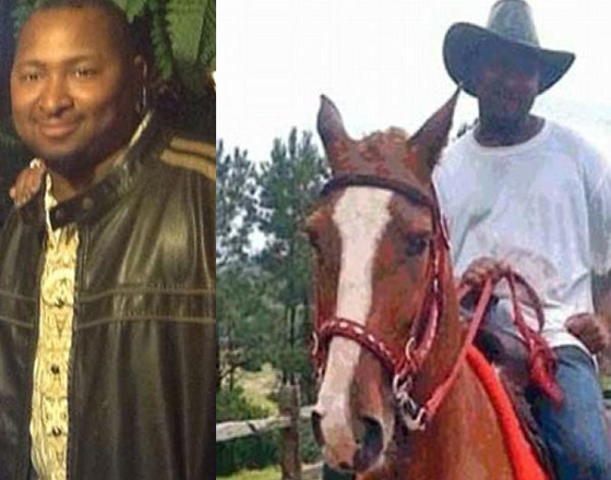 "Johnathan Sanders: He owned horses and a buggy. Witnesses say he was exercising his horses when he was snatched off a horse and strangled to death by a cop.  The police claim they are ""investigating"" the murder."