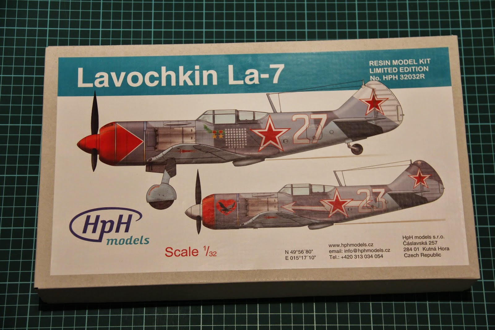 схема самолёта ла-5 бумажная модель