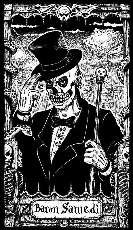 El Barón Samedi, el Loa de la Muerte segun creencias Vudú