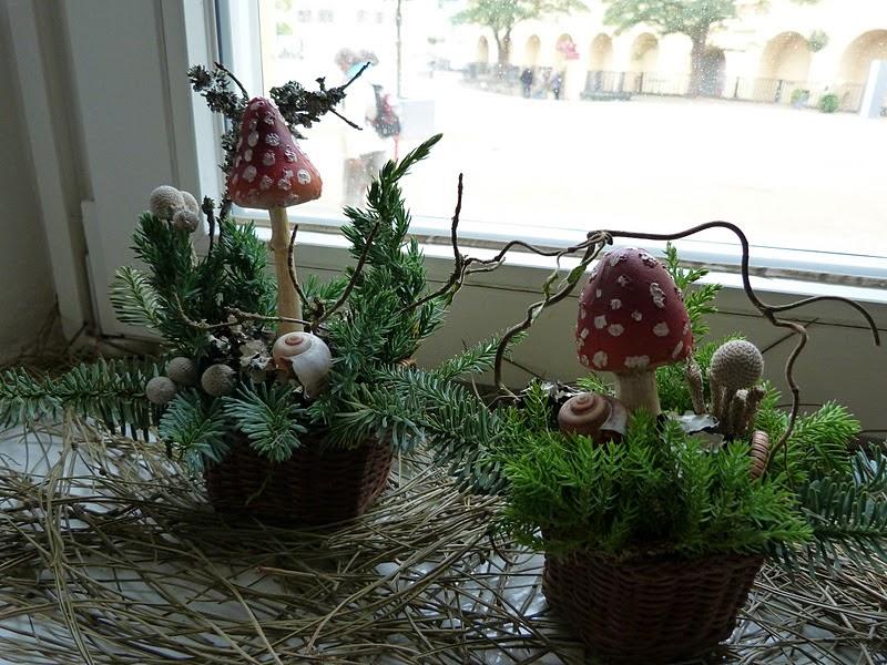 Gartenverbandelt weihnachtsdeko auf der buga - Weihnachtsdeko fensterbank ...