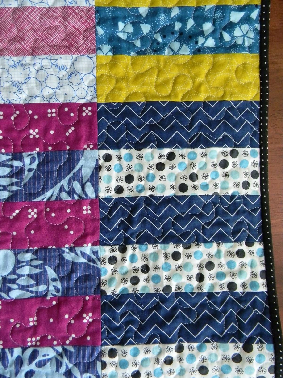 Teaginny Designs: Rugby Stripe Quilt : stripe quilt pattern - Adamdwight.com