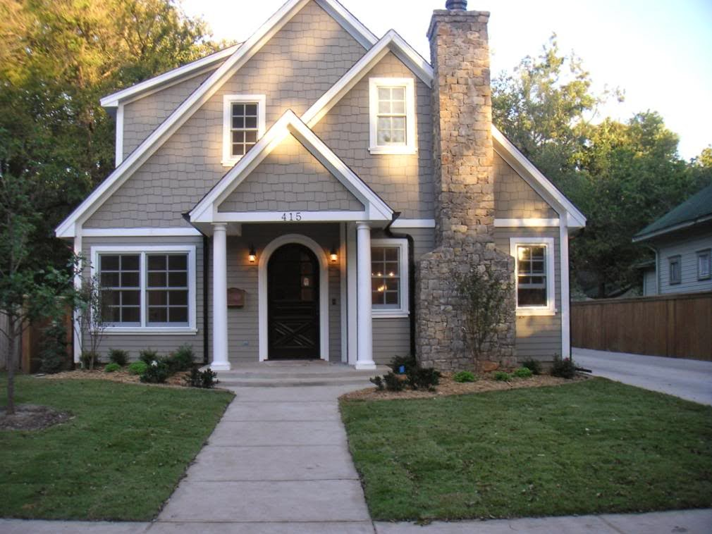 Briarwood iron ore whisper white exterior paint favorite paint colors blog - Home exterior paint ...