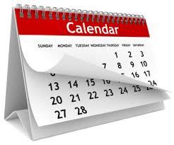 Calendario de Actividades WCD2019