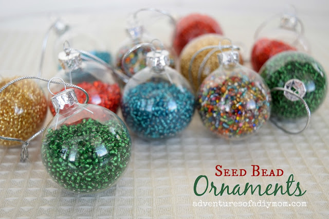 Seed Bead Ornaments