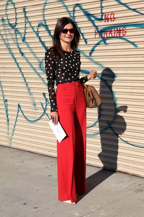 Lifestyle in blog 5 classy ways to wear red pant for What to wear with a red shirt