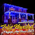 Casas decoradas con luces Navideñas para Facebook