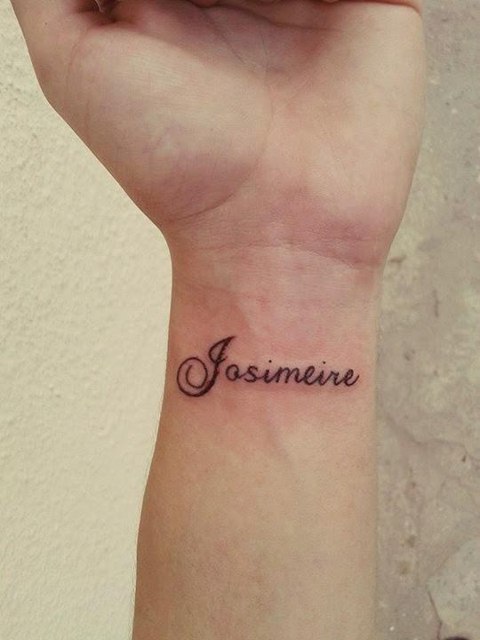 Tatuagem Pulso, Nome, Tatuagem Dói, Como Cuidar, David Alves Mendes