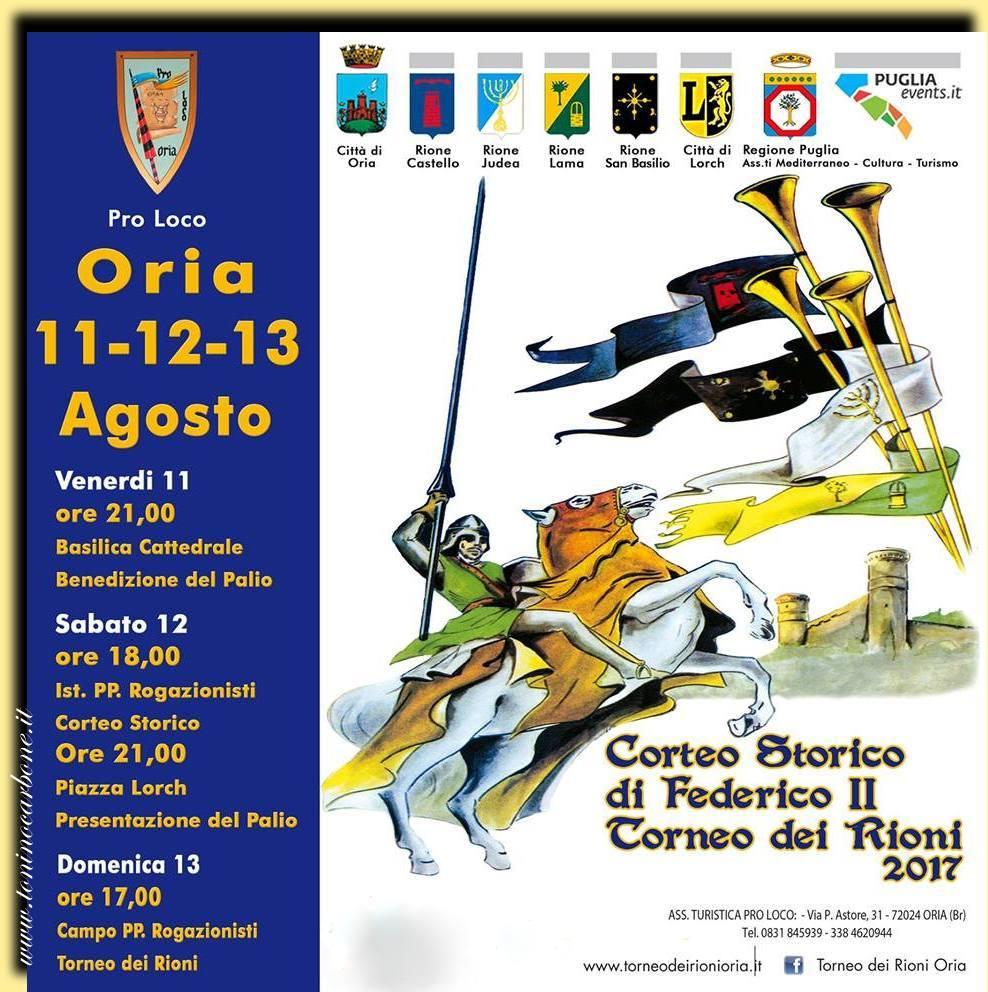 Corteo Storico di Federico II - Torneo dei Rioni 2017