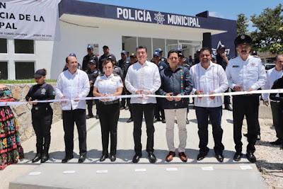 TRABAJO CONJUNTO PERMITE AVANZAR EN MATERIA DE SEGURIDAD, REITERA RUTILIO ESCANDÓN*