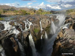 Reisen Afrika Namibia Epupa Falls