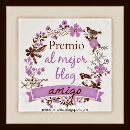 """Premio """"El mejor blog amigo"""""""