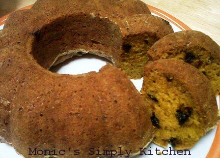 Resep Muffin versi Cake Labu Kuning