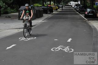 Fahrradstraße Lortzingstraße