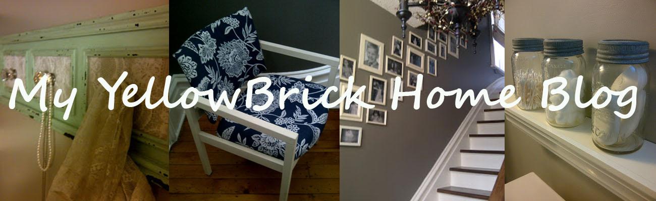 My Yellow Brick Home Blog