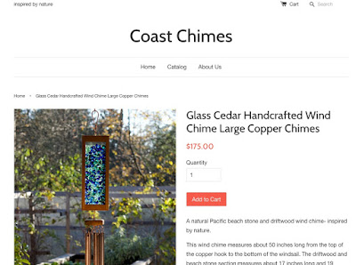 Coast Chimes new website
