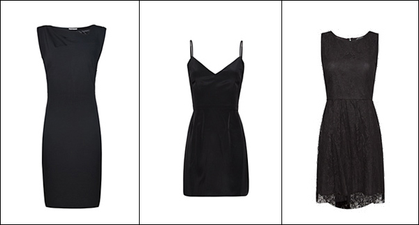 www.designandfashionrecipes.com by Cristina Dal Monte - little black dress by Mango