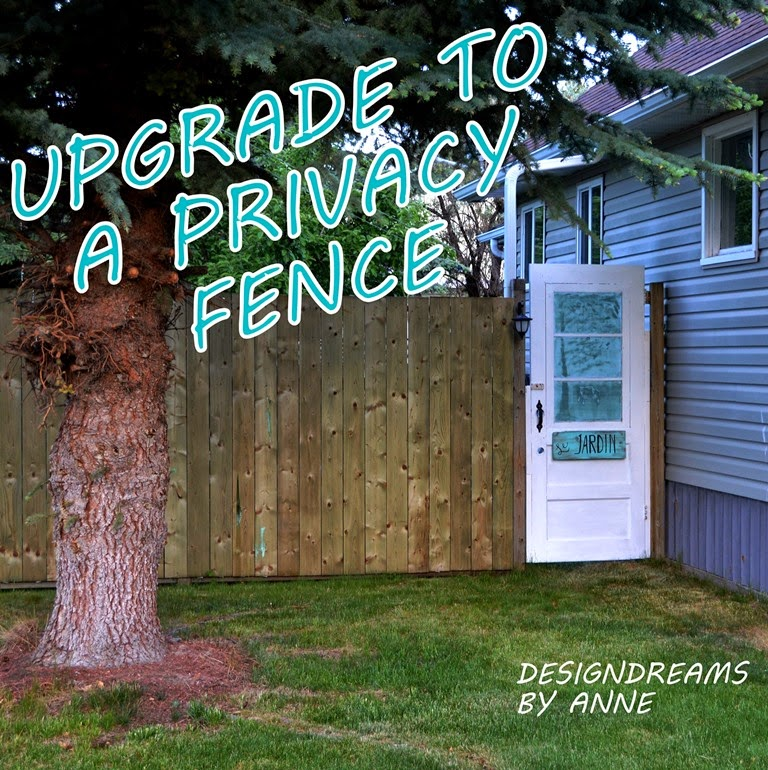 DesignDreams by Anne How My Garden Grows a New Fence