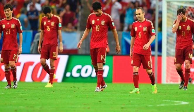 Spanyol Tersingkir dari Piala Dunia