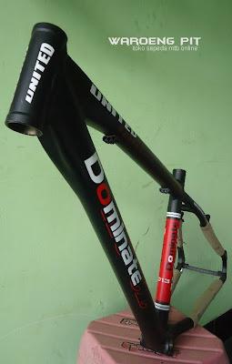 Jual Frame Sepeda Mtb Gunung Downhill United Dominate XC-XL murah