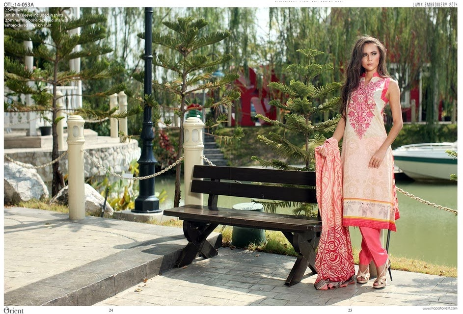 Embroidered Classic Lawn Collection