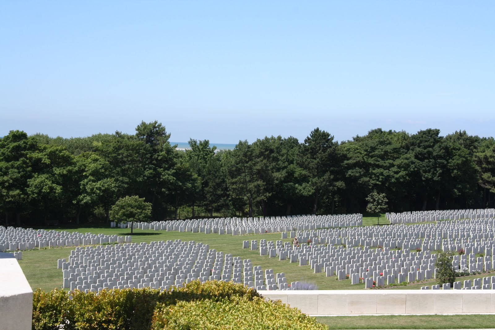 WWI Cemetery at Etaples