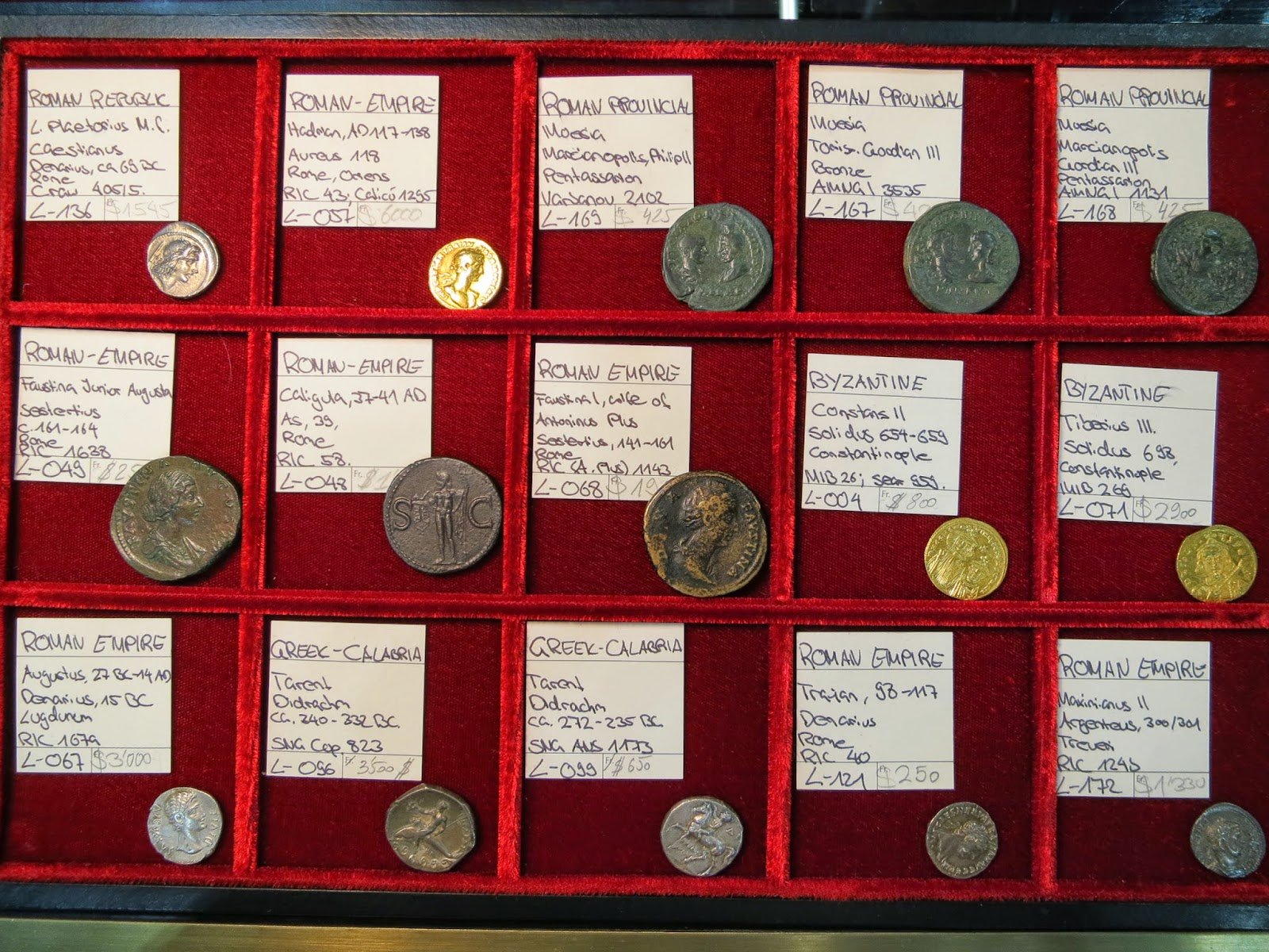 2000 year old coins is SICF 2015