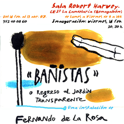"""""""Bañistas"""" o regreso al jardín transparente"""