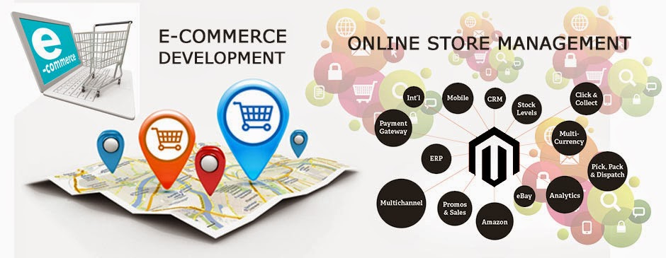 How to manage online shop
