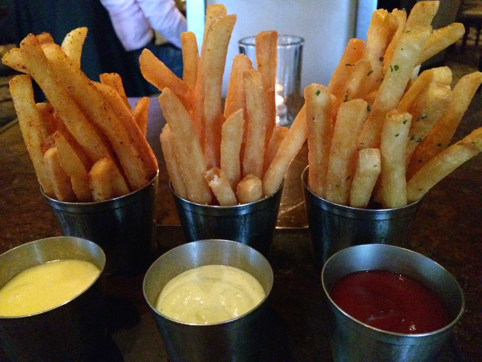Duck Fat Fries at Bourbon Steak SF