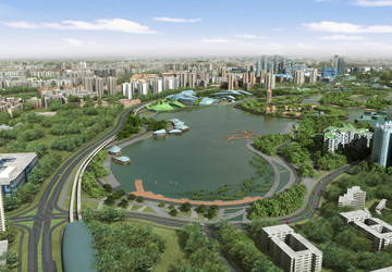 Waterfront @ Faber condo is near Jurong Lake