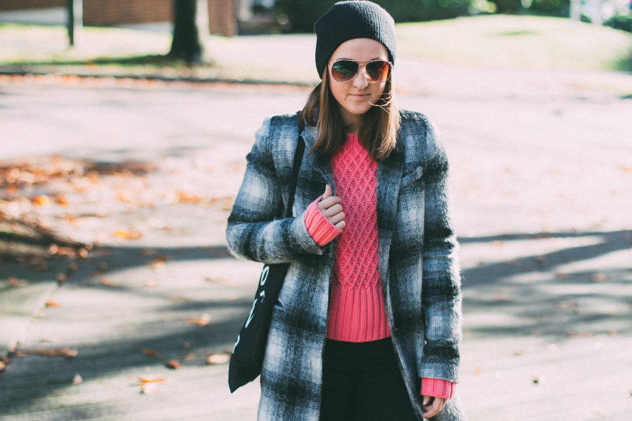 Acne Studios, Zara and J Brand - Fall outfit - Canadian style blogger