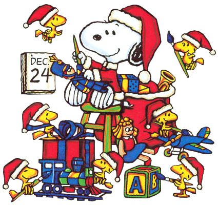 christmas snoopy christmas cartoon