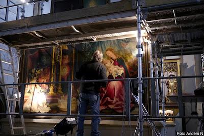 restaurering, konst, tavla, konstrestaurering