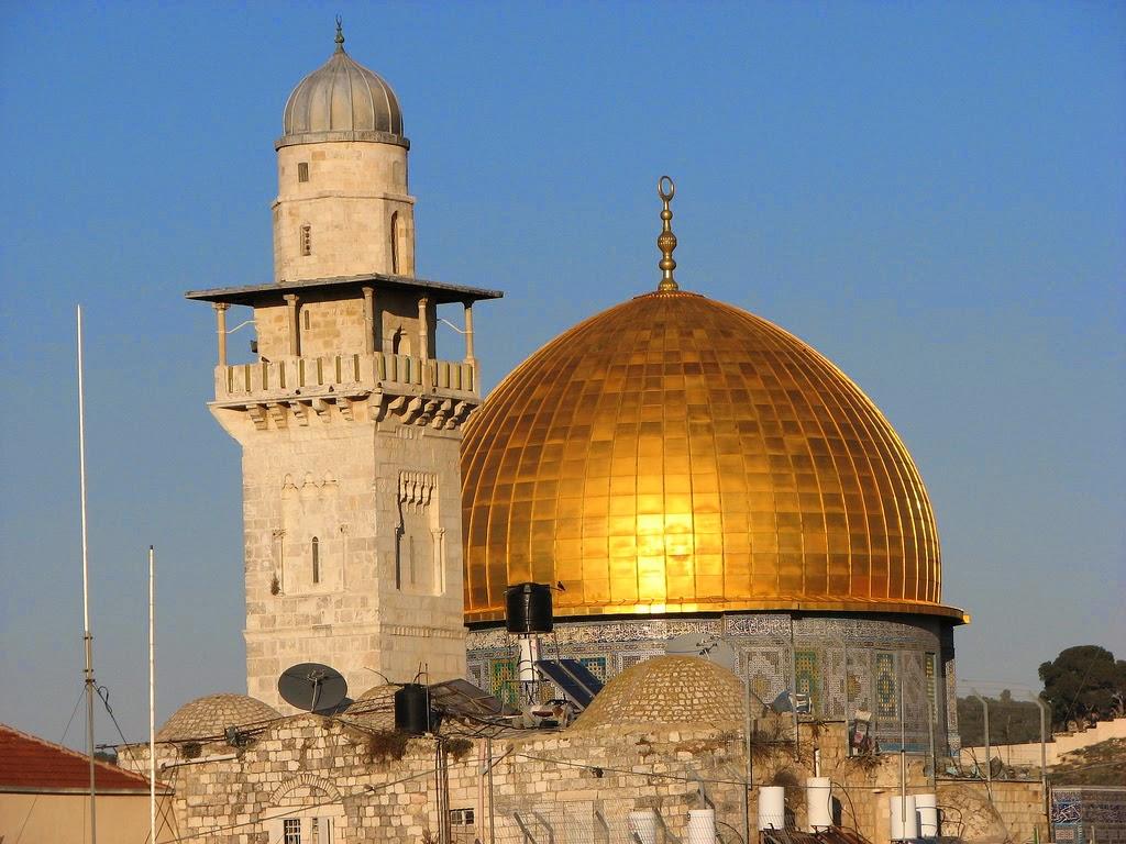 Domo da rocha, a cúpula dourada