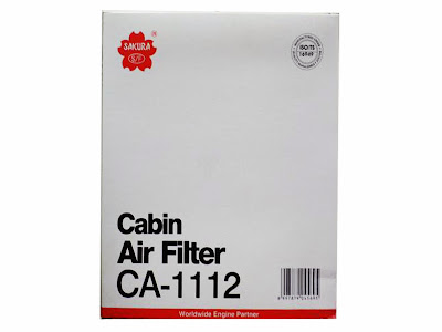 Cabin Air Filter - Filter AC Toyota Camry, Vios, Yaris, Innova, Altis, Hilux, Fortuner