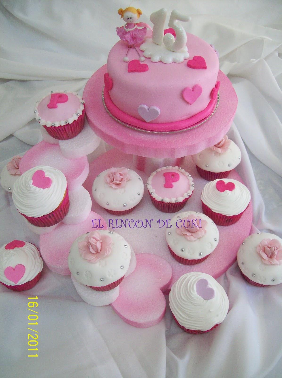 Cup Cakes  Los Que Podes Entregar  O Souvenirs De 15 A  Os
