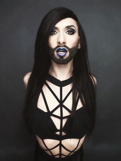 Witzige Fotomontagen: Die besten Conchita Wurst Gags  - Lustige Bilder Conchita Wurst
