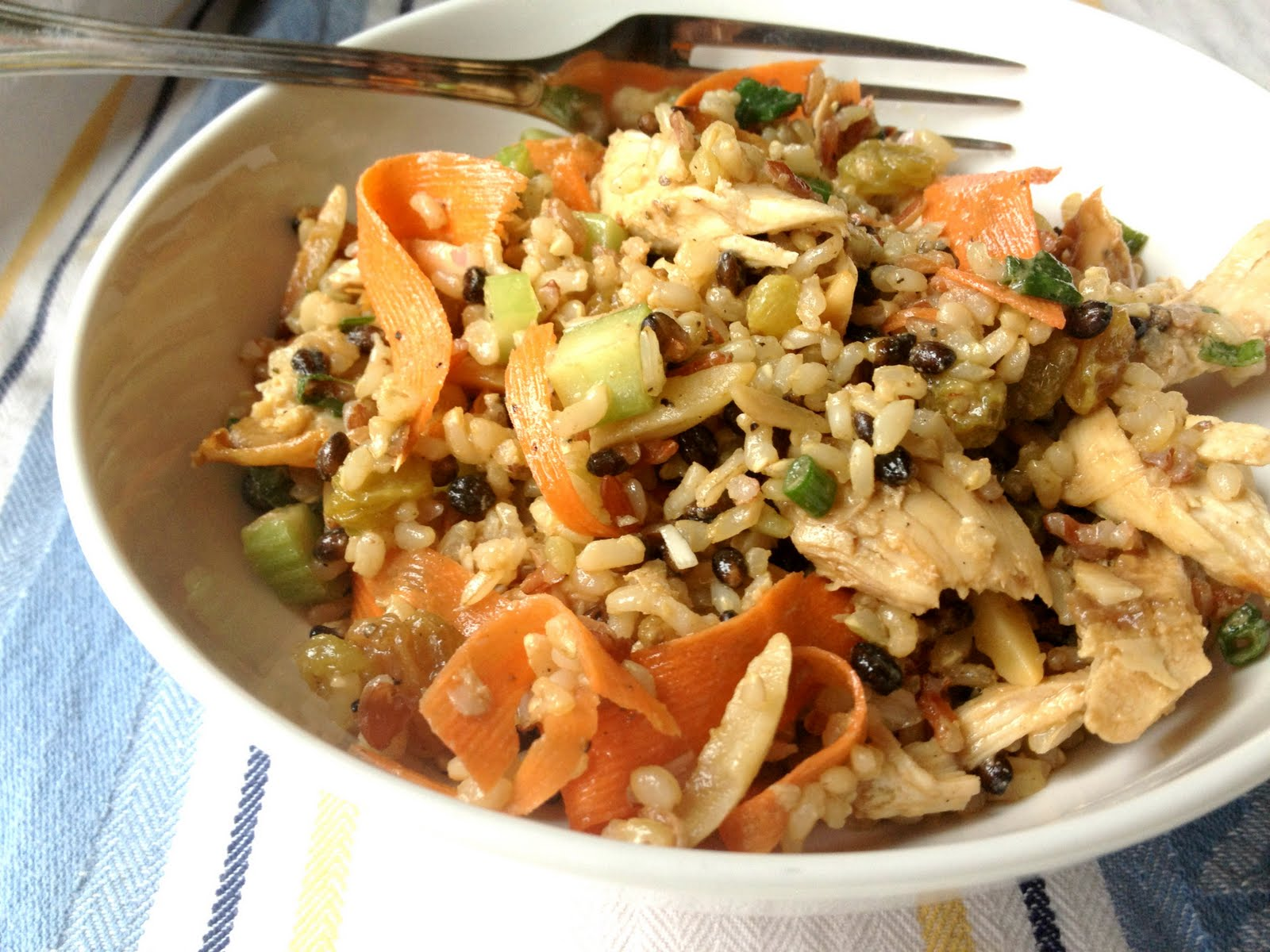 Dijon-Chicken Rice Salad Recipes — Dishmaps
