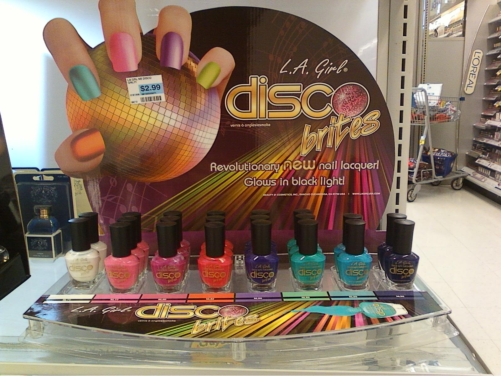 Starlight Radiance: In Stores: Rite Aid Nail Polish Displays ...