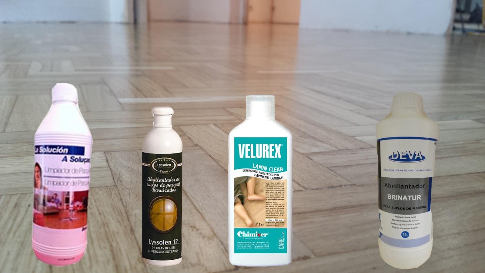 Limpiar parquet con vinagre cmo limpiar y cuidar los suelos de madera maciza with limpiar - Productos para parquet ...
